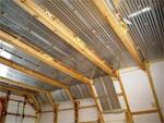 теплый пол: утепление потолка