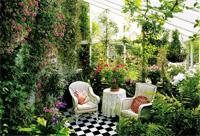 Электрический теплый полвзимних садах